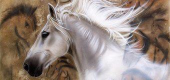 Вышивки крестом лошадей, схема и описание вышивки