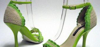 Вяжем босоножки крючком: пинетки для девочки, схемы
