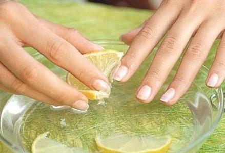 Осветлить ногти