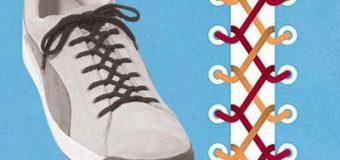 Как правильно и красиво шнуровать кроссовки?
