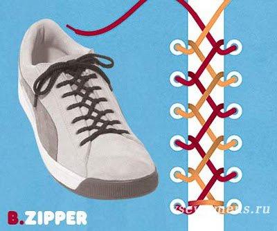 Как правильно шнуровать кроссовки?