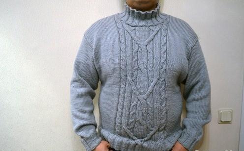 Вязание свитера мужского и женского, для детей