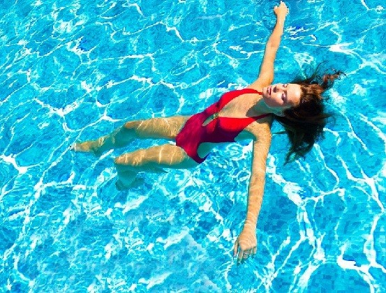 swimming physical exercise and body