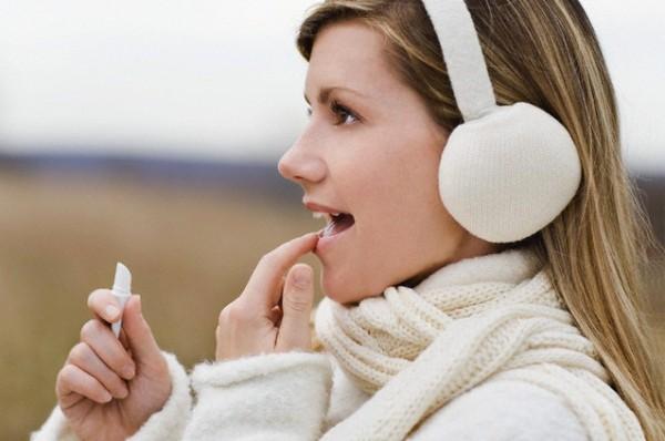 Защита губ зимой