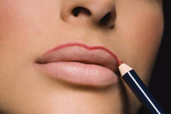 линии для очерчивания губ
