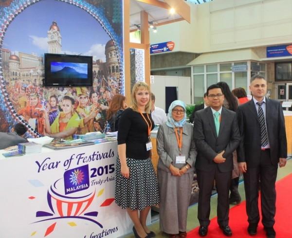 туристическое представительство Малайзии приняло участие в выставке туризма MITT 2015