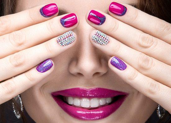красивые ухоженные ногти