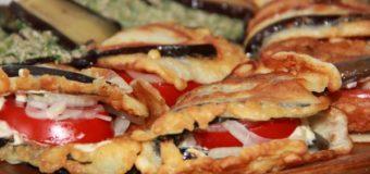 Баклажановые сэндвичи