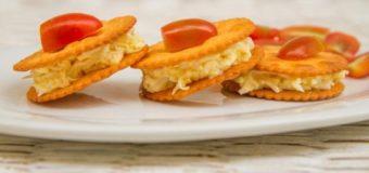 Бутерброд на крекере