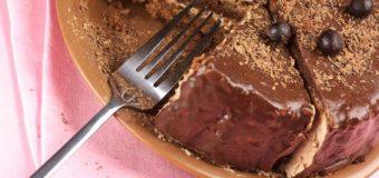 Шоколадно-творожный домик
